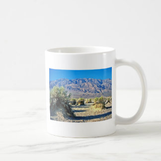 Devil's Cornfield And Panamint Mountains Mug