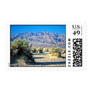 Devil's Cornfield And Panamint Mountains Stamp
