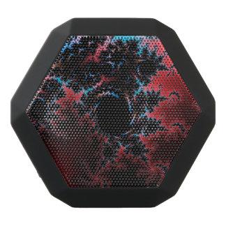 Devil's Dance - red and blue fractal art Black Bluetooth Speaker