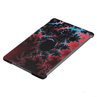 Devil's Dance - red and blue fractal art iPad Air Case