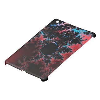 Devil's Dance - red and blue fractal art iPad Mini Covers