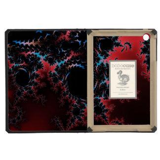 Devil's Dance - red and blue fractal art iPad Mini Retina Cases