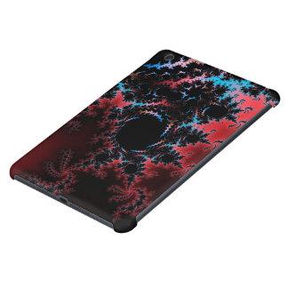 Devil's Dance - red and blue fractal art iPad Mini Retina Cover