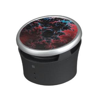 Devil's Dance - red and blue fractal art Speaker