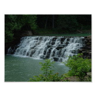 Devil's Den, Arkansas Waterfall Poster