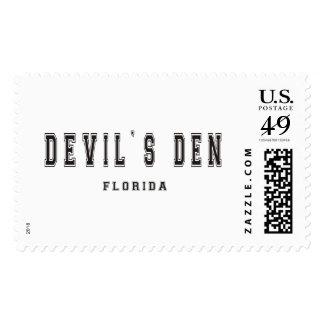 Devil's Den Florida Stamp