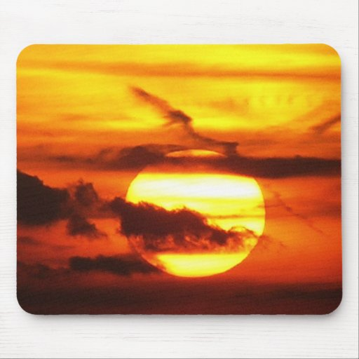 Devil's Dyke (UK) Sunset Mousepad