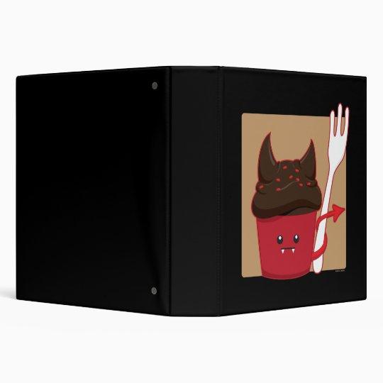 Devils Food Cupcake Binder