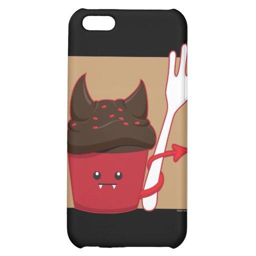 Devils Food Cupcake iPhone 5C Cases