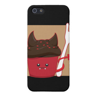 Devils Food Cupcake iPhone SE/5/5s Case
