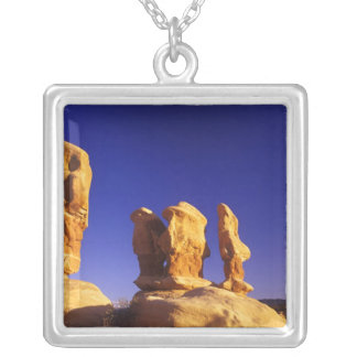 Devils Garden in the Grand Staircase Escalante 2 Silver Plated Necklace