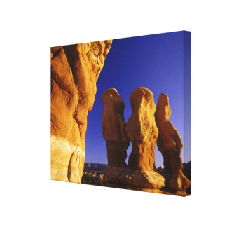 Devils Garden in the Grand Staircase Escalante Canvas Print