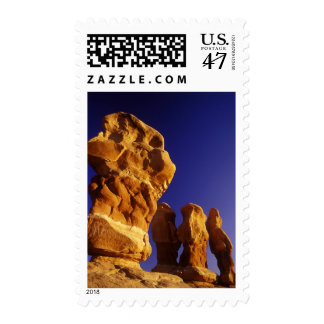 Devils Garden in the Grand Staircase Escalante Postage Stamp