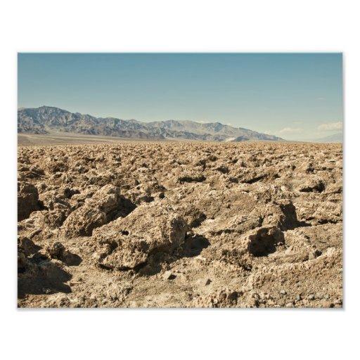 Devil's Golf Course Death Valley Photo Print