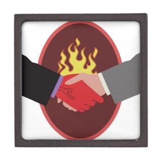 Devils Handshake Premium Jewelry Boxes
