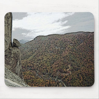 Devil's Head at Chimney Rock Mouse Pad