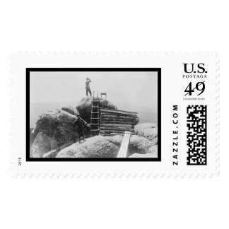 Devils Head Fire Lookout Station, CO 1914 Postage