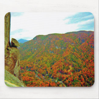 Devil's Head of Chimney Rock Mouse Pad