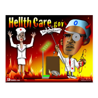 Devil's Hellth Care Postcard