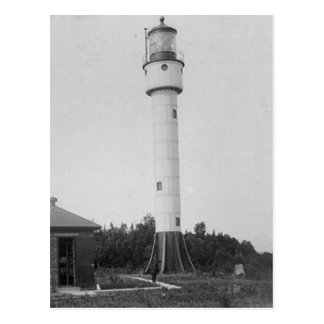 Devils Island Lighthouse Postcard