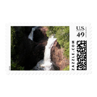 Devil's Kettle Falls Postage Stamp