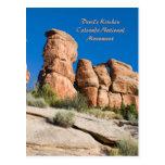 Devil's Kitchen, Colorado National Mnt. Post Card