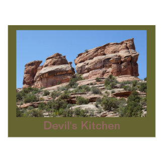 Devil's Kitchen Formation in the CO Ntl. Mnt. Postcard