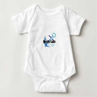 Devils Lake Anchor Baby Bodysuit