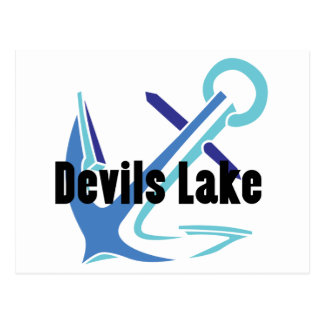 Devils Lake Anchor Postcard