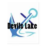 Devils Lake Anchor Postcard