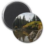 Devils Lake, Bend, Oregon 2 Inch Round Magnet