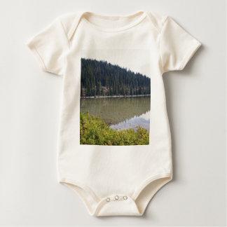 Devils Lake, Bend, Oregon Baby Bodysuit
