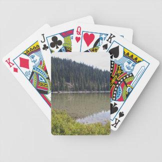 Devils Lake, Bend, Oregon Poker Deck