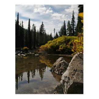Devils Lake, Bend, Oregon Postcard