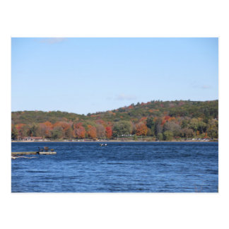 Devil's Lake in the Fall Postcard