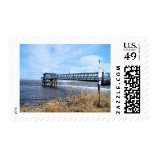 Devils Lake Kotz Ak Postage Stamp