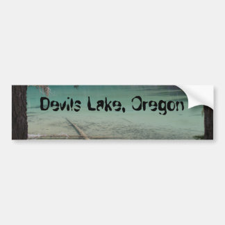 Devils Lake, Oregon Bumper Sticker