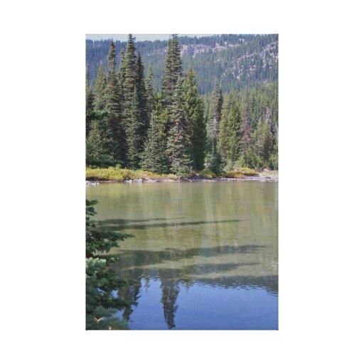 Devils Lake, Oregon Canvas Print