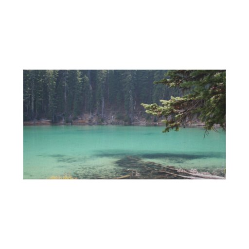 Devils Lake, Oregon Gallery Wrapped Canvas