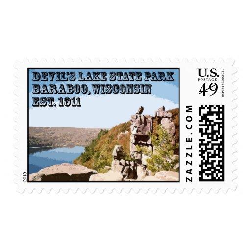 Devil's Lake State Park Stamps