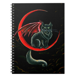 Devils Moon Spiral Notebooks