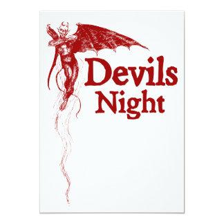 Devils Night Card