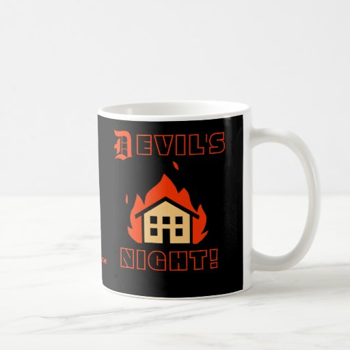 DEVIL'S NIGHT - DETROIT MUGS