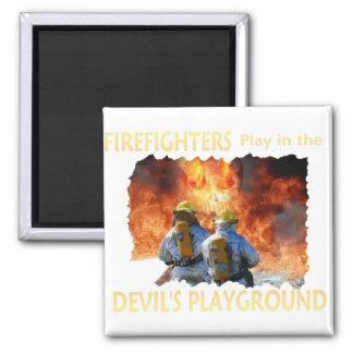 DEVILS PLAYGROUND MAGNET