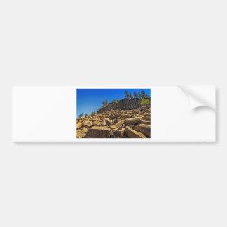 Devil's Postpile National Monument Bumper Sticker
