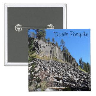 Devils Postpile National Monument Button