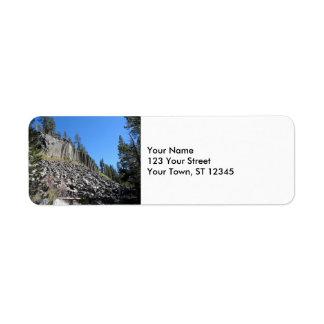Devils Postpile National Monument Label