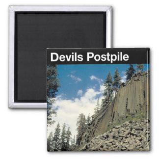 Devils Postpile National Monument Magnet