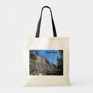 Devils Postpile National Monument Tote Bag
