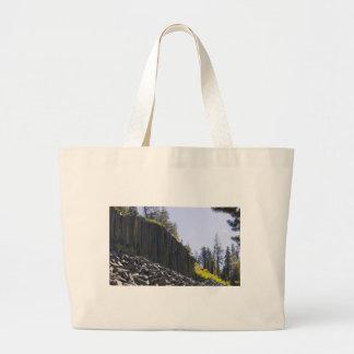 Devils Postpile Tote Bag